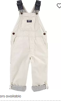 Lined Convertible Overalls