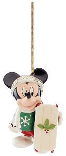 Lenox 2020 Let It Snow Mickey Ornament & Reviews - Holiday Shop - Home
