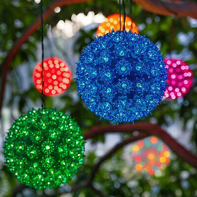 Starlight Sphere Christmas Light Ball Holiday Light Sphere Indoor Outdoor Lights