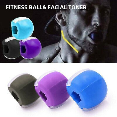 Jawline Exerciser Fitness Ball Neck Face Toning Jawzrsize Jaw Anti-Wrinkle Face