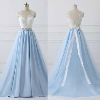 A Line Lace Sleeveless Wedding Dresses Bridal Ball Gowns Sweep Train Custom Size