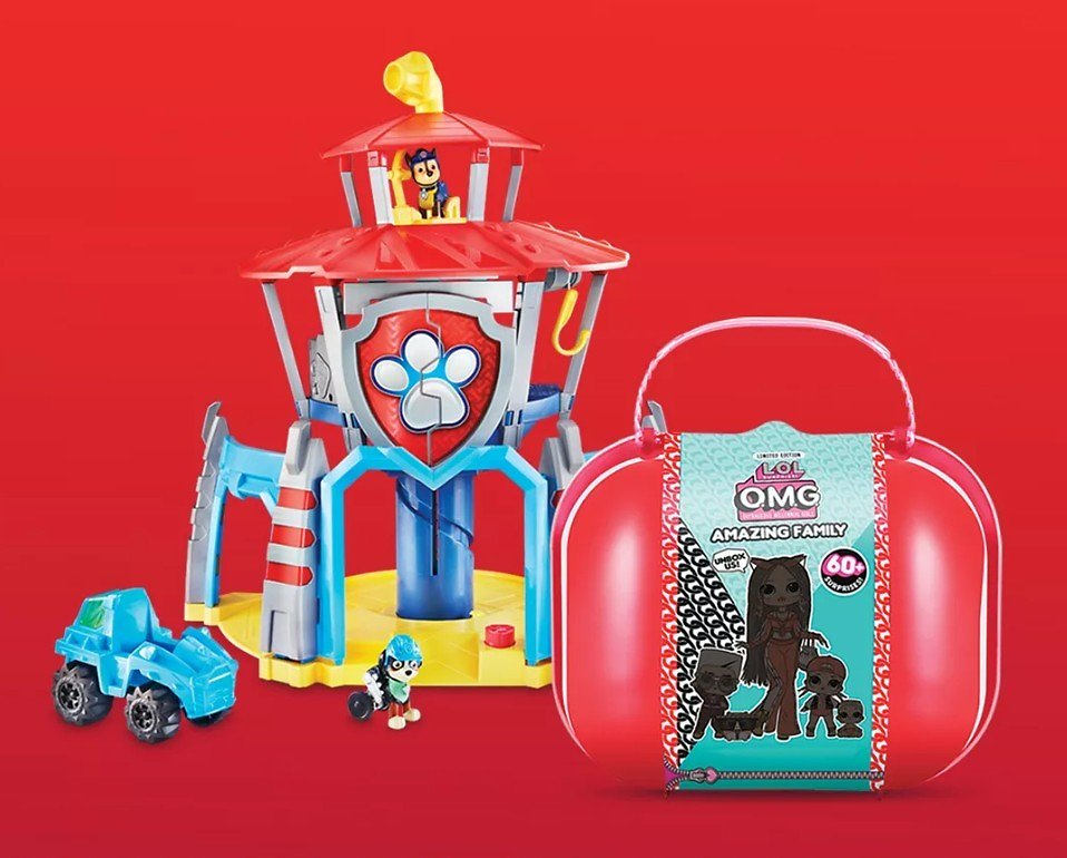 Up to 15% Off Toy Brands They Love Like PAW Patrol, B. Toys, Our Generation, LEGO & More.*