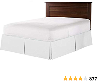550 TC Egyptian Cotton Bedding 1X Bed Skirt 12
