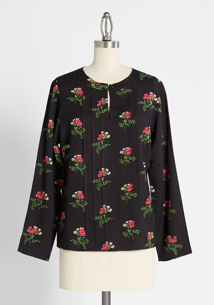 Bunches of Blossoms Blouse