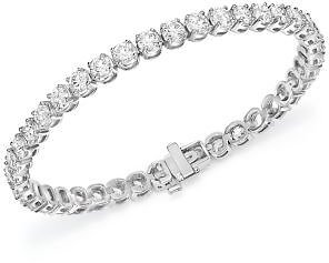 Bloomingdale's Certified Diamond Tennis Bracelet in 14K White Gold, 10.0 Ct. T.w. - 100% Exclusive Jewelry & Accessories - Bloomingdale's