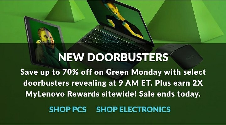 Up to 70% Off Doorbuster Green Monday Sale