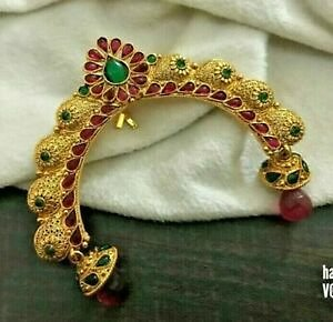 Details About Indian Bollywood Gold Tone Hair Juda Accessories Wedding Women Ethnic Jewelry