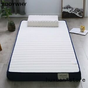 Details About Latex and Memory Foam High-density Mattress Bed Foldable Mat Sofa Tatami New @