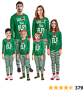 Christmas Family Matching Red Holiday Pajama PJ Sets