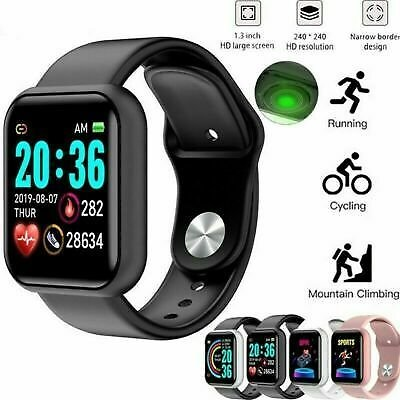 Smart Watch Gifts Bluetooth Heart Rate Blood Pressure Monitor Fitness Tracker UK