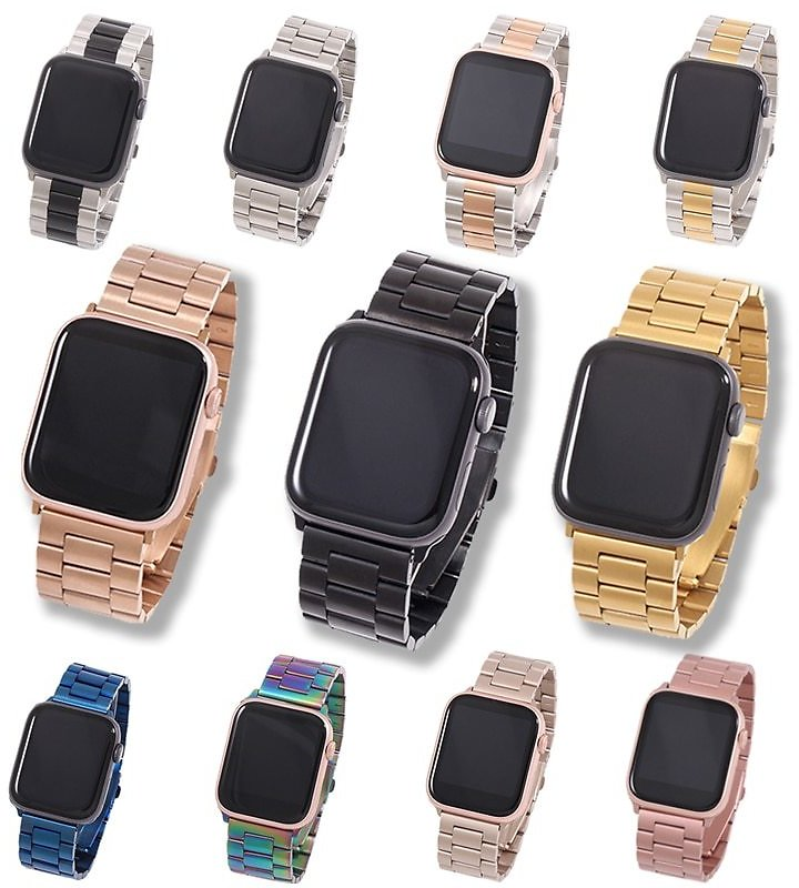 US $4.66 20% OFF|Band For Apple Watch6 5 4 3 2 1 42mm 38mm 40MM 44MM Metal Stainless Steel Watchband Bracelet Strap for IWatch Series Accessories|Watchbands| - AliExpress