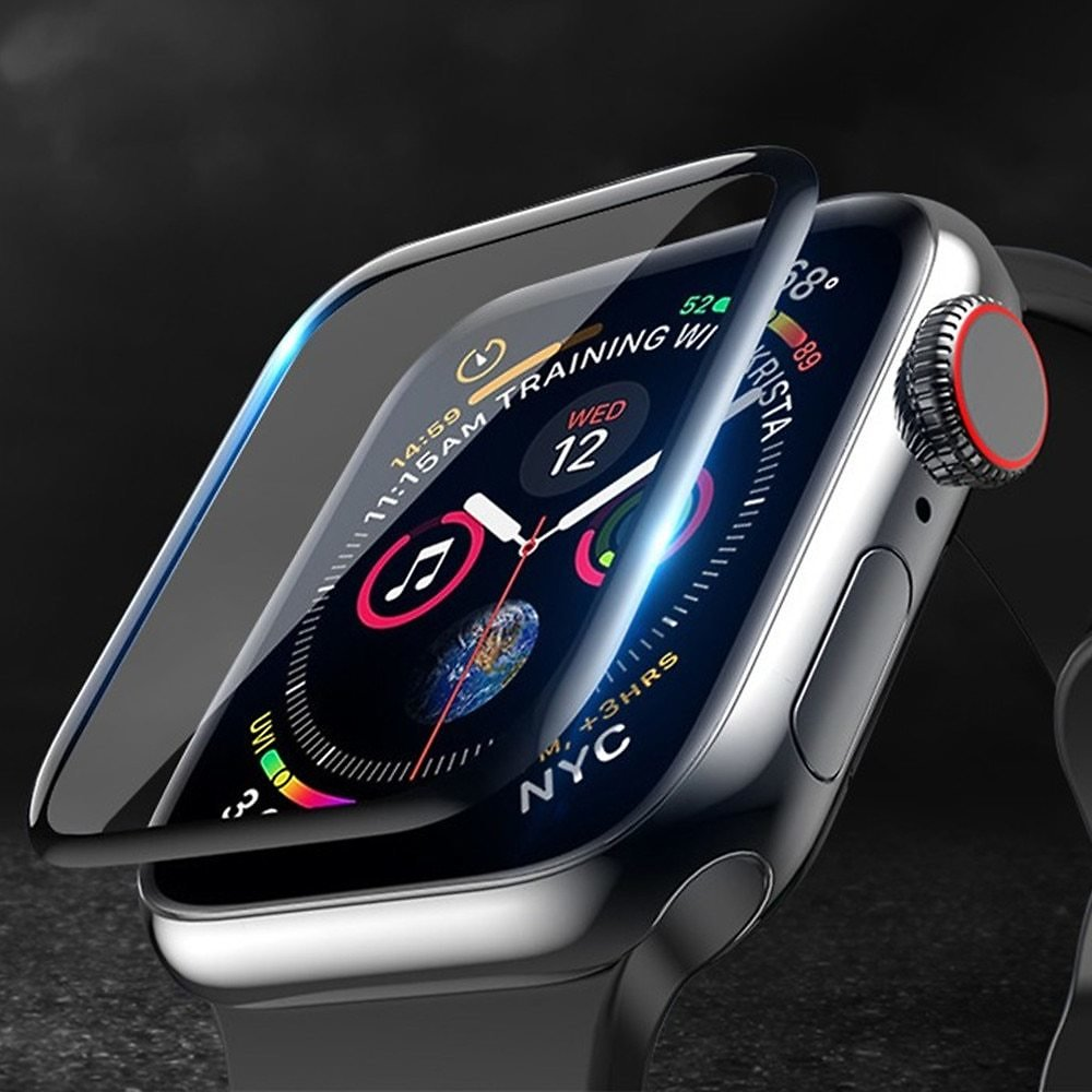 US $1.87 31% OFF|Screen Protector Cover For Apple Watch Band Apple Watch 5 4 3 44mm 40mm 42mm/38mm Iwatch Soft Glass Apple Watch Accessories 44 M|Watchbands| - AliExpress