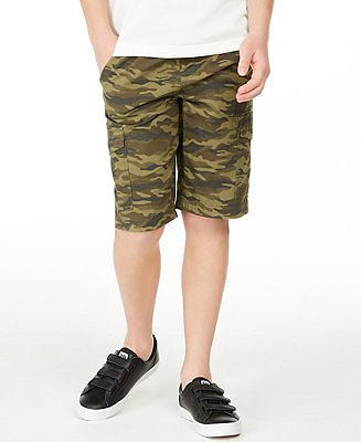 Epic Threads Big Boys Camouflage Canvas Cargo Shorts, Created for Macy's & Reviews - Shorts - Kids