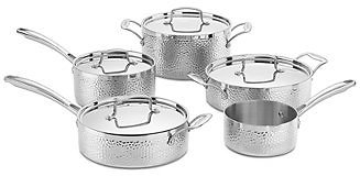 Cuisinart Hammered Tri-Ply Stainless 9-Pc.