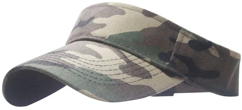 #H30 Unisex Camouflage Outdoor Baseball Cap Sun Cap Mountaineering Cycling Without Top Cap Hollow Out Ponytail Baseball Hat