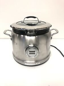 KitchenAid Multi-Cooker KMC4241SS 4-Qt All-inOne Cooking System Stainless Steel