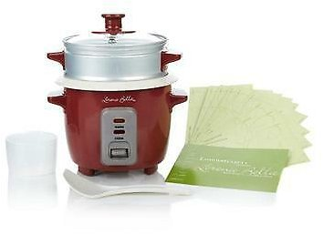 Limited Time Sale! Lorena Garcia Skinny Mini One-Touch Cooker - Red 3R02H