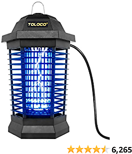Bug Zapper Outdoor Electric, Mosquito Killer for Patio