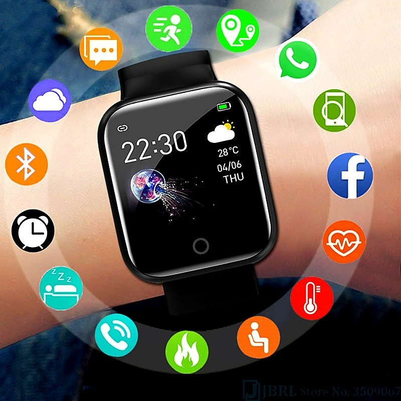 US $3.19 23% OFF|OUTMIX Smart Watch Men Women Blood Pressure Monitor Smartwatch Fitness Tracker Waterproof Sport Bluetooth Watch for Android IOS|Smart Watches| - AliExpress