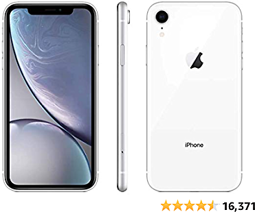 Apple IPhone XR, 64GB, White - Fully Unlocked (Renewed Premium)