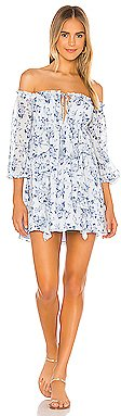 New House of Harlow 1960 X REVOLVE Zanna Dress in Blue Floral | REVOLVE
