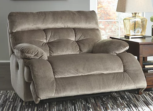 Brassville Oversized Power Recliner | Ashley Furniture HomeStore