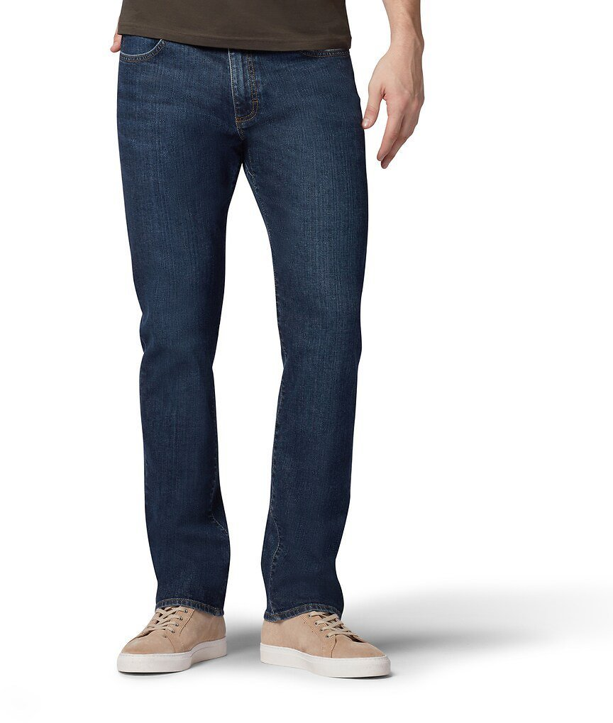 Lee Men's and Big Men's Extreme Motion Straight Fit Tapered Leg Jeans