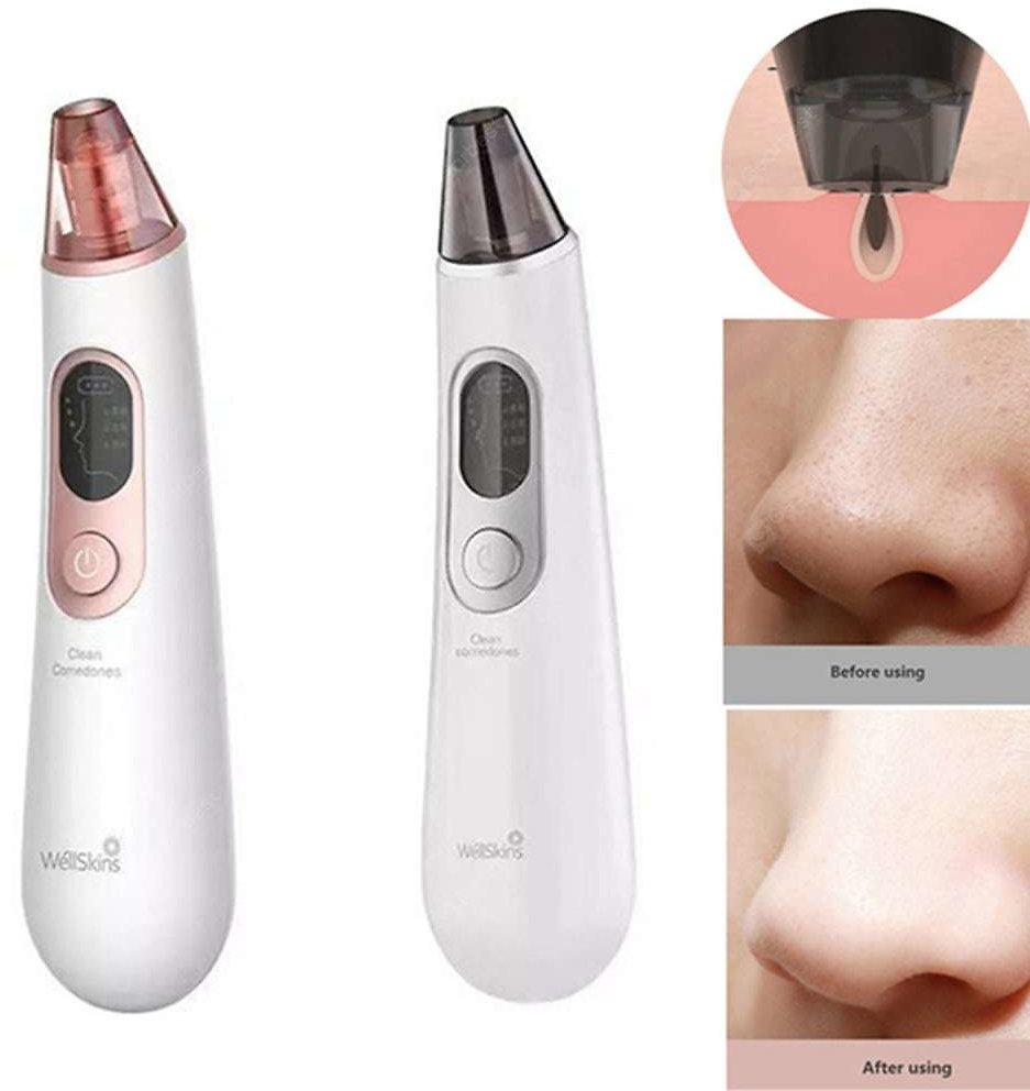 Wellskins Electric Blackhead Removal Cleaner Apparatus to Blackhead Cosmetology Apparatus to Wash Pore Cleaner Vacuum Suction Sale, Price & Reviews | Gearbest
