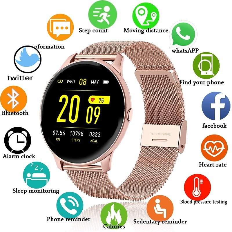 US $18.89 82% OFF|Digital Watch Women Sport Men Watches Electronic LED Ladies Wrist Watch For Android IOS Fitness Clock Female Male Wristwatch+box|Women's Watches| - AliExpress