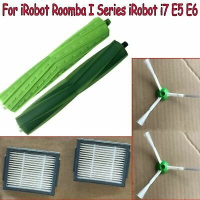 Main/Side Brushes Filter Spare Parts For IRobot Roomba I7 E5 E6 Vacuum Cleaner