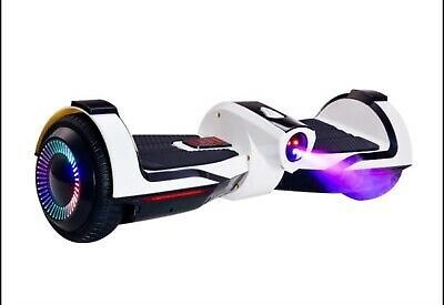 New White Hoverboard Self Balance Scooter UL Without Bag Cool