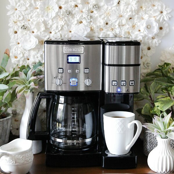 Cuisinart Coffee Center™ 12 Cup Coffeemaker and Single-Serve Brewer