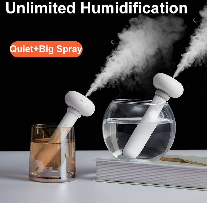 US $8.8 53% OFF JISULIFE Portable Air Humidifier Aroma Diffuser USB Silent Mini Humidifier Mist Maker for Home Office Car Difusor Aromaterapia Humidifiers  - AliExpress