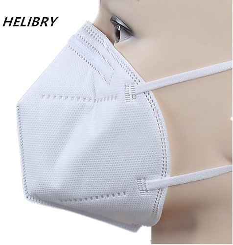 Face Mask Anti Dust Bacterial Mask 5 Layer Dustproof Protective
