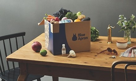 Meal Delivery from Blue Apron (Up to 51% Off). Three Options Available