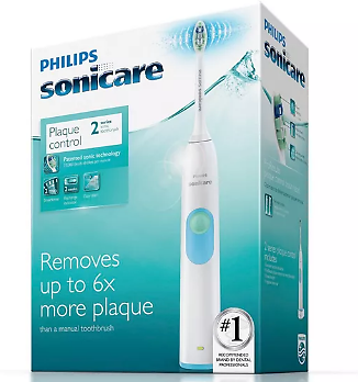 Philips Sonicare Series 2 Plaque Control Rechargeable Toothbrush-cleaning Action