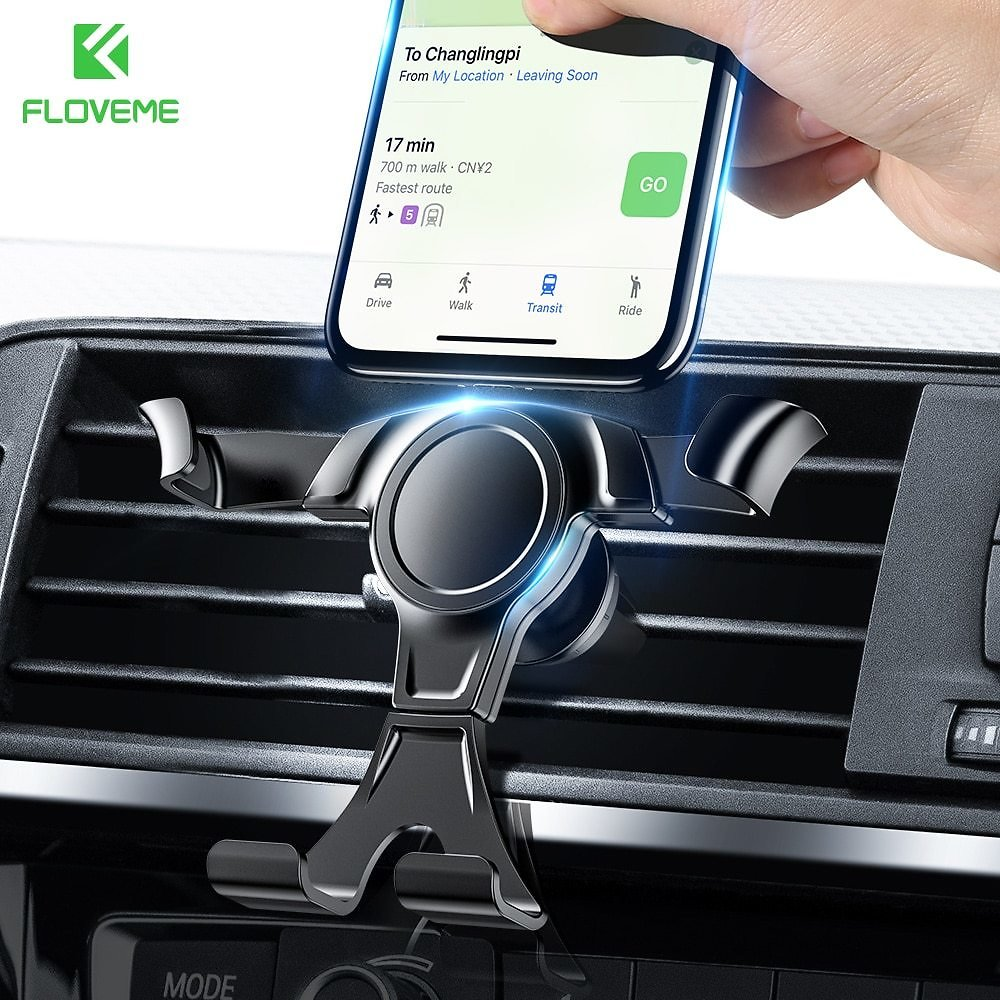 US $3.17 35% OFF|Universal Gravity Car Phone Holder For Mobile Phone In Car Air Vent Mount Stand For IPhone 7 Samsung Support Car Holder|Phone Holders & Stands| - AliExpress