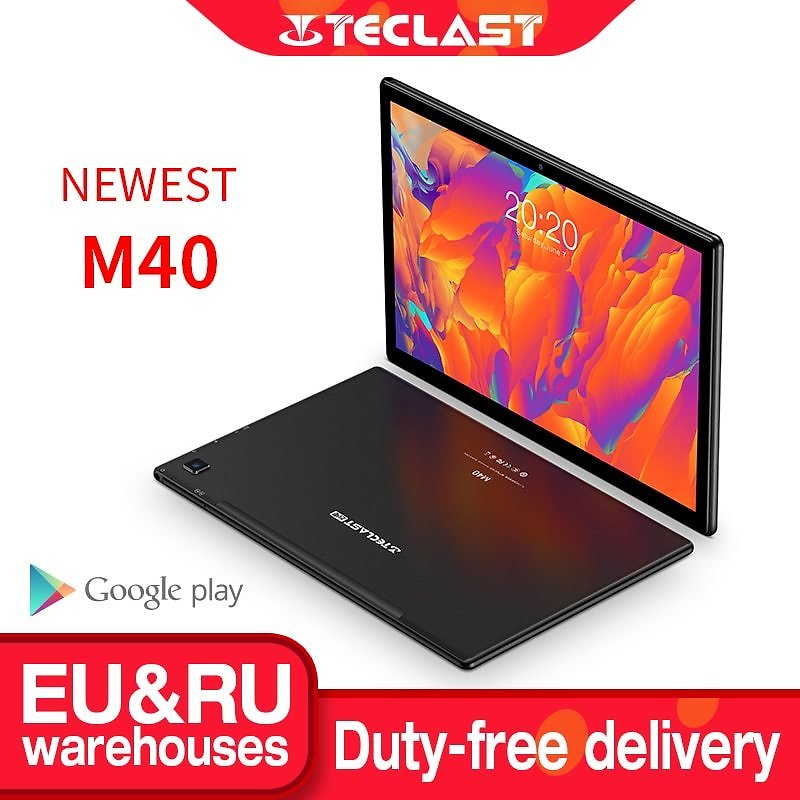 US $175.31 25% OFF|Teclast M40 10.1'' Tablet 1920x1200 4G Network UNISOC T618 Octa Core 6GB RAM 128GB ROM Tablets PC Android 10 Dual Wifi Type C|Tablets| - AliExpress
