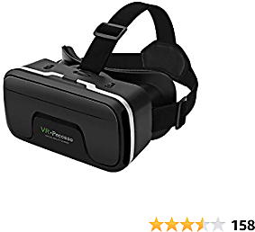 VR Headset, Pecosso 3D Virtual Reality Glasses Compatible with IPhone & Android Phone New Goggles for Movies Compatible 4.7