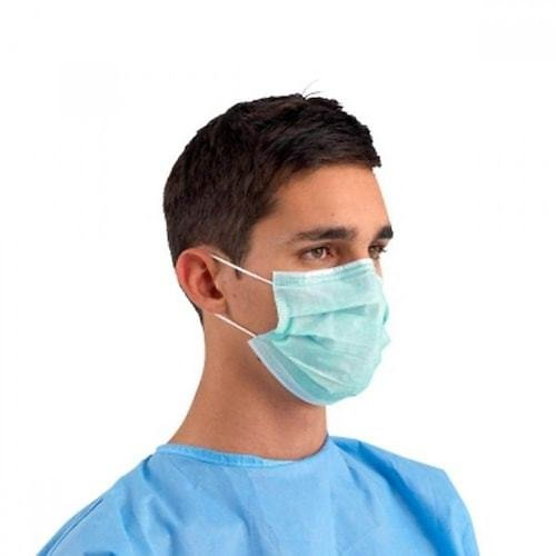 3 Layer Protective Disposable Masks Dustproof Face Mask 3 Ply Respirator 40pcs