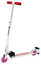 Razor Spark Plus Kids Folding Kick Scooter with Light Up Wheels and Spark Bar, Red & Reviews - Home