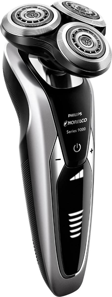 Philips Norelco 9300 Clean & Charge Wet/Dry Electric Shaver Black/Silver S9311/84