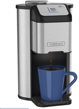 Cuisinart Grind and Brew Single Cup Coffeemaker DGB-1FR - Refurbished