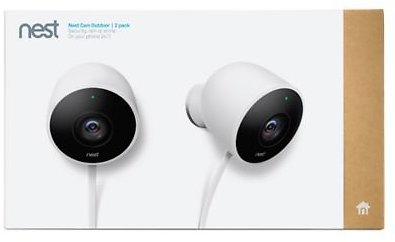 Google Nest Cam Outdoor Security Camera (Set of 2) | Bed Bath & Beyond