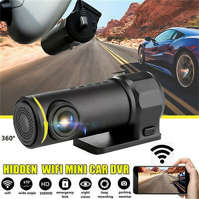 1080 P Mini Car DVR Camera Dash Cam WIFI G-sensor Night Vision Video Recorder