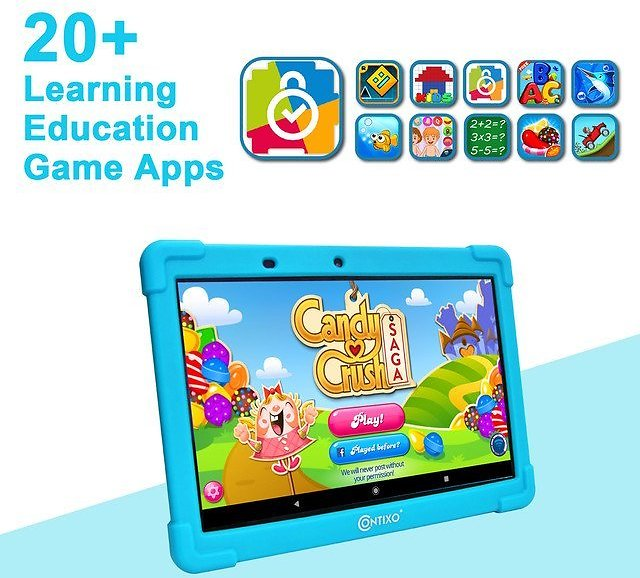 Contixo Educational Tablet for Kids with Child-Proof Case
