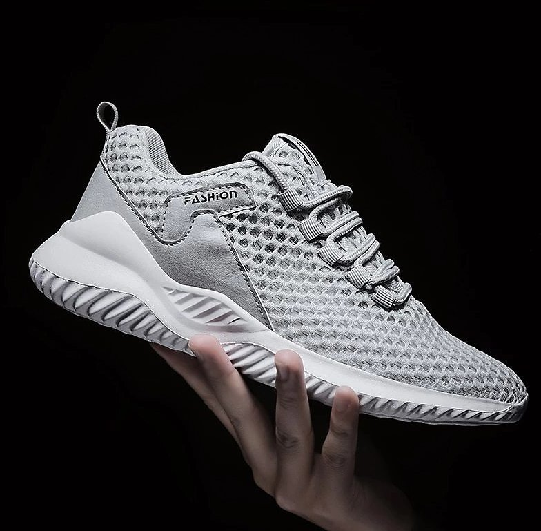Men's Shoes Summer New Men Casual Shoes Breathable Sneakers Man Comfortable White Couple Footwear Zapatos Hombre Big Size 39-46