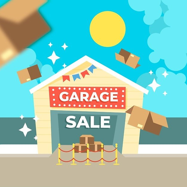 Up to 80% Off Garage Sale is Open!