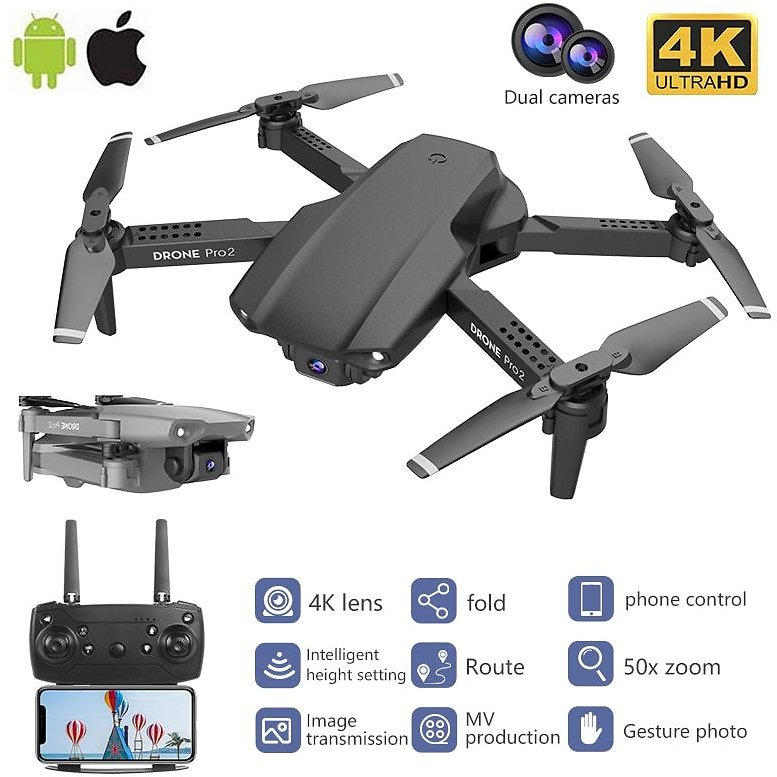 US $40.75 50% OFF|RC Quadrocopt Drone UAV with 4K HD Professional Camera Real Time High Quality Four Axis WiFi Remote Control Dron Quadcopter Toys|RC Helicopters| - AliExpress