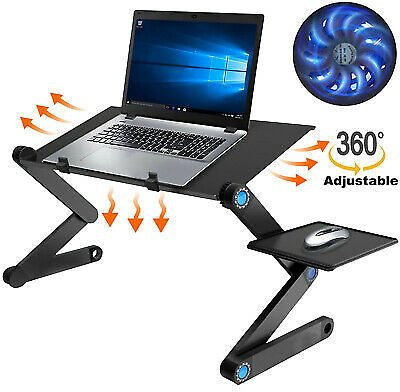 Laptop Stand Desk Table Adjustable Folding Computer Table Portable Sofa Lap Tray